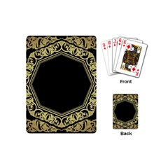 Art Nouvea Antigue Playing Cards (mini)  by 8fugoso