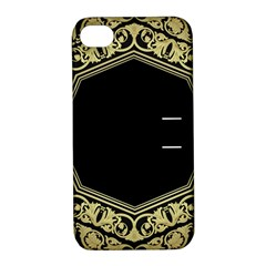 Art Nouvea Antigue Apple Iphone 4/4s Hardshell Case With Stand by 8fugoso