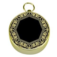 Art Nouvea Antigue Gold Compasses by 8fugoso