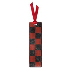 Square1 Black Marble & Red Wood Small Book Marks by trendistuff