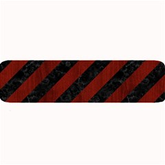 Stripes3 Black Marble & Red Wood (r) Large Bar Mats by trendistuff