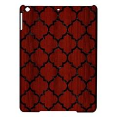 Tile1 Black Marble & Red Wood Ipad Air Hardshell Cases by trendistuff