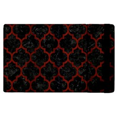 Tile1 Black Marble & Red Wood (r) Apple Ipad 3/4 Flip Case by trendistuff