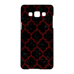 Tile1 Black Marble & Red Wood (r) Samsung Galaxy A5 Hardshell Case  by trendistuff