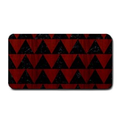Triangle2 Black Marble & Red Wood Medium Bar Mats by trendistuff