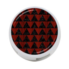 Triangle2 Black Marble & Red Wood 4 Port Usb Hub (two Sides)  by trendistuff