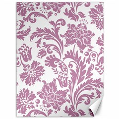 Vintage Floral Pattern Canvas 36  X 48   by 8fugoso