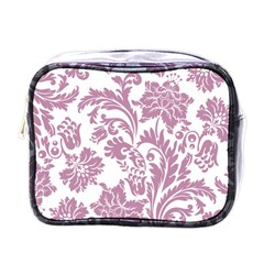 Vintage Floral Pattern Mini Toiletries Bags by 8fugoso