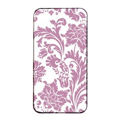 Vintage Floral Pattern Apple Iphone 4/4s Seamless Case (black) by 8fugoso