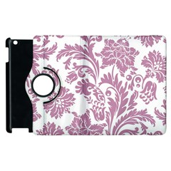 Vintage Floral Pattern Apple Ipad 2 Flip 360 Case by 8fugoso