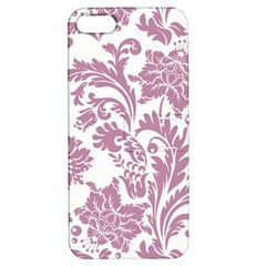Vintage Floral Pattern Apple Iphone 5 Hardshell Case With Stand by 8fugoso