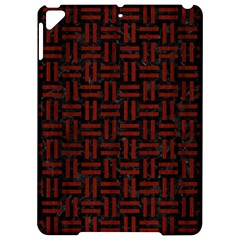 Woven1 Black Marble & Red Wood (r) Apple Ipad Pro 9 7   Hardshell Case by trendistuff