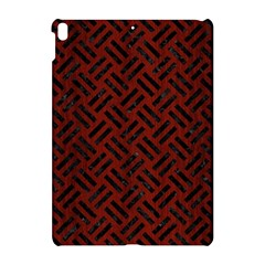 Woven2 Black Marble & Red Wood Apple Ipad Pro 10 5   Hardshell Case by trendistuff