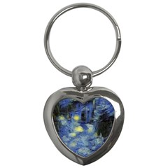 Van Gogh Inspired Key Chains (heart)  by 8fugoso