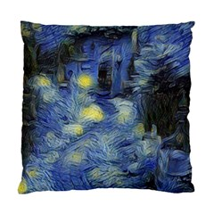 Van Gogh Inspired Standard Cushion Case (two Sides) by 8fugoso