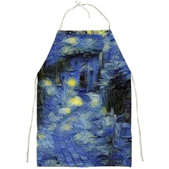 Van Gogh Inspired Full Print Aprons by 8fugoso
