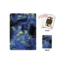Van Gogh Inspired Playing Cards (mini)  by 8fugoso
