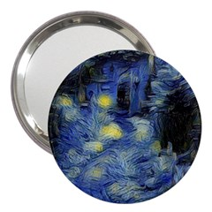 Van Gogh Inspired 3  Handbag Mirrors by 8fugoso