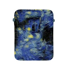 Van Gogh Inspired Apple Ipad 2/3/4 Protective Soft Cases by 8fugoso