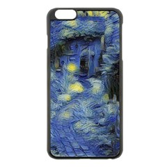 Van Gogh Inspired Apple Iphone 6 Plus/6s Plus Black Enamel Case by 8fugoso