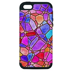 Mosaic Linda 1 Apple Iphone 5 Hardshell Case (pc+silicone) by MoreColorsinLife