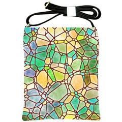 Mosaic Linda 2 Shoulder Sling Bags by MoreColorsinLife