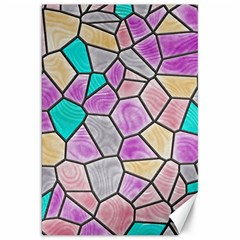 Mosaic Linda 3 Canvas 20  X 30   by MoreColorsinLife