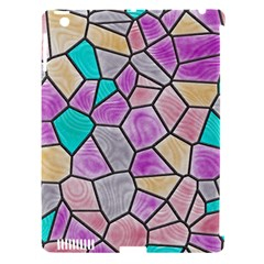 Mosaic Linda 3 Apple Ipad 3/4 Hardshell Case (compatible With Smart Cover) by MoreColorsinLife
