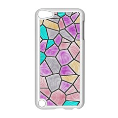 Mosaic Linda 3 Apple Ipod Touch 5 Case (white) by MoreColorsinLife