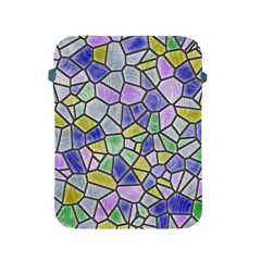 Mosaic Linda 5 Apple Ipad 2/3/4 Protective Soft Cases by MoreColorsinLife