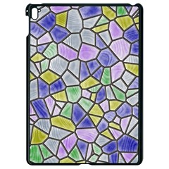 Mosaic Linda 5 Apple Ipad Pro 9 7   Black Seamless Case by MoreColorsinLife