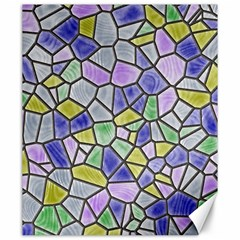 Mosaic Linda 5 Canvas 20  X 24   by MoreColorsinLife