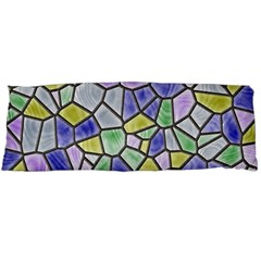 Mosaic Linda 5 Body Pillow Case Dakimakura (two Sides) by MoreColorsinLife