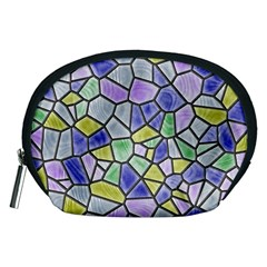 Mosaic Linda 5 Accessory Pouches (medium)  by MoreColorsinLife