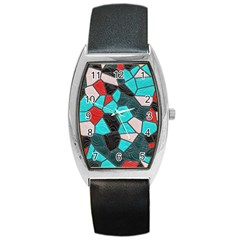 Mosaic Linda 4 Barrel Style Metal Watch by MoreColorsinLife