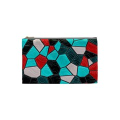 Mosaic Linda 4 Cosmetic Bag (small)  by MoreColorsinLife