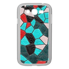 Mosaic Linda 4 Samsung Galaxy Grand Duos I9082 Case (white) by MoreColorsinLife