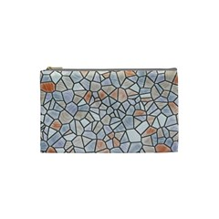 Mosaic Linda 6 Cosmetic Bag (small)  by MoreColorsinLife