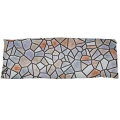 Mosaic Linda 6 Body Pillow Case Dakimakura (two Sides) by MoreColorsinLife