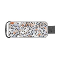 Mosaic Linda 6 Portable Usb Flash (two Sides) by MoreColorsinLife