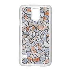 Mosaic Linda 6 Samsung Galaxy S5 Case (white) by MoreColorsinLife