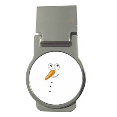 Cute Snowman Money Clips (round)