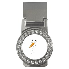 Cute Snowman Money Clips (cz)  by Valentinaart