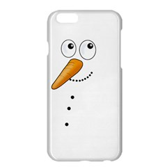Cute Snowman Apple Iphone 6 Plus/6s Plus Hardshell Case by Valentinaart