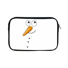 Cute Snowman Apple Ipad Mini Zipper Cases by Valentinaart