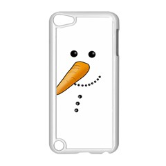 Cute Snowman Apple Ipod Touch 5 Case (white) by Valentinaart