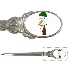 Cute Snowman Letter Openers by Valentinaart
