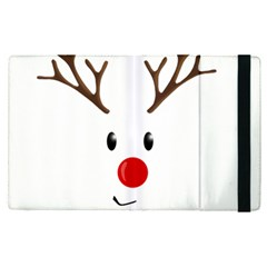 Cute Reindeer  Apple Ipad Pro 12 9   Flip Case by Valentinaart