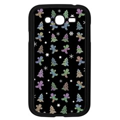 Ginger Cookies Christmas Pattern Samsung Galaxy Grand Duos I9082 Case (black) by Valentinaart