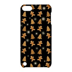 Ginger Cookies Christmas Pattern Apple Ipod Touch 5 Hardshell Case With Stand by Valentinaart